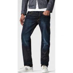 G-Star Raw - Jeansy 3301 Straight. Czarne jeansy męskie z dziurami marki G-Star RAW, l, z materiału, retro. Za 399,90 zł.