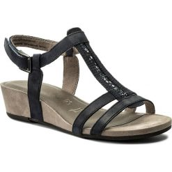 Sandały damskie: Sandały TAMARIS – 1-28209-20 Navy/Metallic 773