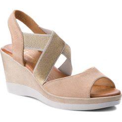 Sandały damskie: Sandały MACIEJKA – 03617-04/00-5 Beż