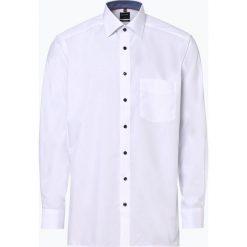 OLYMP Luxor modern Fit - Koszula męska niewymagająca prasowania, czarny. Czarne koszule męskie na spinki marki OLYMP Luxor modern Fit, m. Za 249,95 zł.