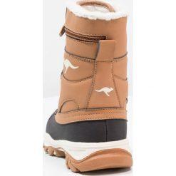 KangaROOS DARWIN Śniegowce saddle brown. Niebieskie buty zimowe damskie marki KangaROOS. W wyprzedaży za 146,30 zł.
