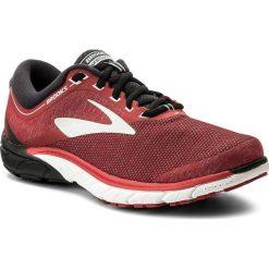 Buty BROOKS - PureCadence 7 110274 1D 673 Red/Black/Silver. Czerwone buty do biegania męskie Brooks, z materiału. W wyprzedaży za 369,00 zł.