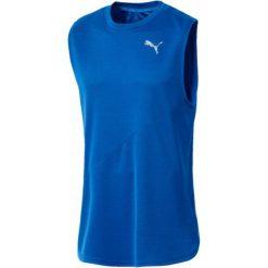 Puma Koszulka Męska Ignite Singlet Mono Strong Blue S. Niebieskie koszulki do fitnessu męskie Puma, m. Za 99,00 zł.
