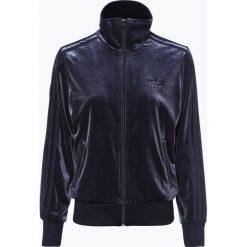 Adidas Originals - Damska bluza rozpinana, niebieski. Niebieskie bluzy rozpinane damskie adidas Originals, l, w paski. Za 329,95 zł.