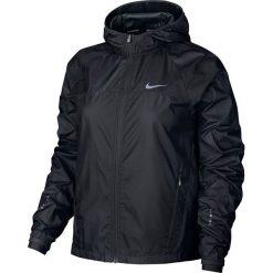 Nike Kurtka damska Shield Running Jacket czarna r. L (799853 010). Czarne kurtki sportowe damskie marki Nike, xs, z bawełny. Za 325,00 zł.