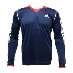 Bejsbolówki męskie: Adidas Bluza Func Tee granatowa r. 180 (G92839)
