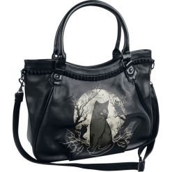 Banned Alternative Hecate In Full Moon Torebka - Handbag czarny/biały. Białe torebki klasyczne damskie Banned Alternative, z nadrukiem, małe, z nadrukiem. Za 164,90 zł.