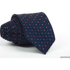 Krawat Męski K&D Elegancki Kolekcja Wiosna 2018. Czarne krawaty męskie Pakamera, z materiału, eleganckie. Za 79,00 zł.