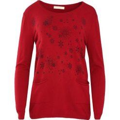 Bordowy Sweter Purpose. Czerwone swetry klasyczne damskie marki Born2be, na zimę, l, z okrągłym kołnierzem. Za 49,99 zł.
