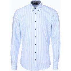 Nils Sundström - Koszula męska, niebieski. Niebieskie koszule męskie na spinki Nils Sundström, m, z bawełny, button down. Za 119,95 zł.
