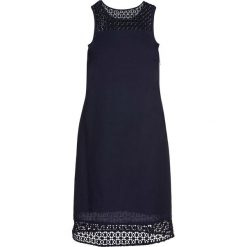Sukienki: Sukienka lniana bonprix ciemnoniebieski