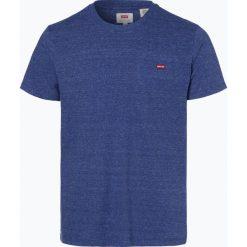 Levi's - T-shirt męski, niebieski. Niebieskie t-shirty męskie marki Levi's®, m, z aplikacjami. Za 99,95 zł.