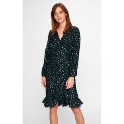 Vero Moda - Sukienka Henna. Niebieskie sukienki mini marki Vero Moda, z bawełny. W wyprzedaży za 99,90 zł.