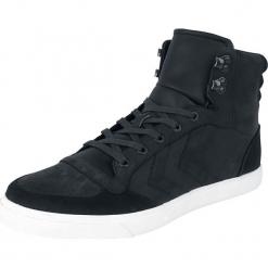 Hummel Stadil Winter Buty sportowe czarny. Czarne buty skate męskie marki Hummel, z materiału, na sznurówki. Za 324,90 zł.