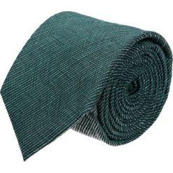 Krawaty męskie: krawat cotton zielony classic 200