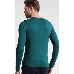 Swetry klasyczne męskie: Benetton Sweter green