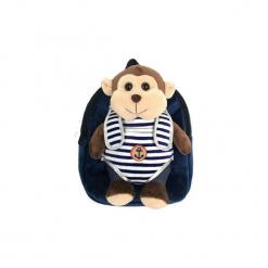Plecak z odpinaną maskotką – małpka. Czarne przytulanki i maskotki marki Copywrite Designs. Za 53,00 zł.