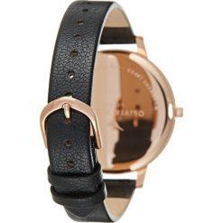 Olivia Burton Zegarek black/rosegoldcoloured. Czarne, analogowe zegarki damskie Olivia Burton. Za 419,00 zł.
