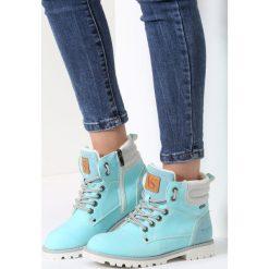 Błękitne Traperki Blue Shoes. Niebieskie buty zimowe damskie vices. Za 109,99 zł.