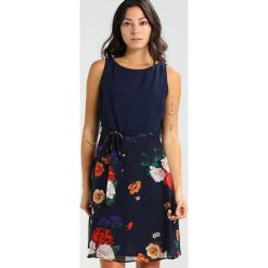 Sukienki hiszpanki: Dorothy Perkins Petite BLOCK FLORAL Sukienka letnia navy blue