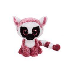 Przytulanki i maskotki: Beanie Boos Leeann – Różowy Lemurek 15 cm 37225 Maskotka TY INC