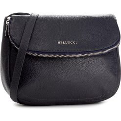 Torebka BELLUCCI - R-313 Granat. Czarne listonoszki damskie marki Bellucci. W wyprzedaży za 239,00 zł.