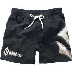 Kąpielówki męskie: Sabaton Logo Kąpielówki czarny