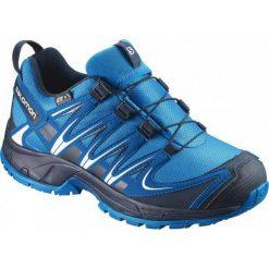 Salomon Buty Trekkingowe Xa Pro 3d Cswp J Hawaiian/Mykonos Blue/Navy Blazer 31. Niebieskie buciki niemowlęce chłopięce Salomon, na sznurówki. W wyprzedaży za 249,00 zł.