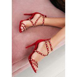 Czerwone Sandały Always Be Beautiful. Czerwone sandały damskie vices, na wysokim obcasie. Za 69,99 zł.