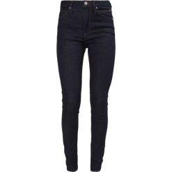 Calvin Klein Jeans SCULPTED SKINNY Jeans Skinny Fit rinsed denim. Czarne jeansy damskie Calvin Klein Jeans, z bawełny. W wyprzedaży za 350,35 zł.