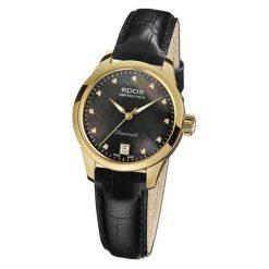 ZEGAREK EPOS Ladies 4426.132.22.85.15. Czarne zegarki damskie EPOS, ze stali. Za 5700,00 zł.