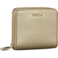 Mały Portfel Damski FURLA - Babylon 851601 P PR71 SFM Color Gold. Żółte portfele damskie Furla, ze skóry. W wyprzedaży za 439,00 zł.