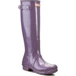 Kalosze HUNTER - Womens Org Tall WFT1000RGL Thundercloud. Fioletowe buty zimowe damskie Hunter, z kauczuku. W wyprzedaży za 339,00 zł.