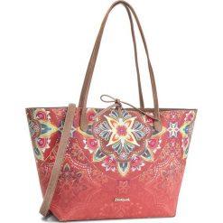 Torebka DESIGUAL - 18WAXP05 7008. Brązowe torebki klasyczne damskie marki Desigual, ze skóry ekologicznej, duże. W wyprzedaży za 249,00 zł.