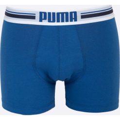 Puma - Bokserki (2-pack). Niebieskie bokserki męskie Puma, z bawełny. W wyprzedaży za 59,90 zł.