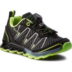 Buty trekkingowe chłopięce: Trekkingi CMP – Kids Altas Trail Shoes 3Q95264K  Nero/Yellow Fluo 38AE