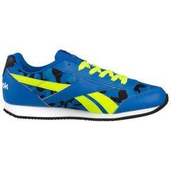 Buty sportowe w kolorze niebieskim. Brązowe buty sportowe męskie marki Reebok, z materiału. W wyprzedaży za 199,95 zł.