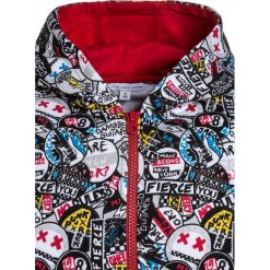Bejsbolówki męskie: Little Marc Jacobs JOGGING Bluza rozpinana schwarz/rot