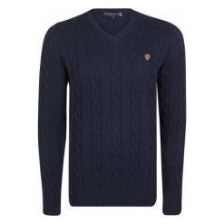 Giorgio Di Mare Sweter Męski M Ciemny Niebieski. Niebieskie swetry klasyczne męskie marki Giorgio di Mare, m, z bawełny. W wyprzedaży za 199,00 zł.