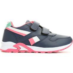 Granatowo-Różowe Buty Sportowe Team Leader. Czerwone buty sportowe dziewczęce marki Born2be, z okrągłym noskiem, na płaskiej podeszwie, na rzepy. Za 59,99 zł.