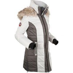 Płaszcz outdoorowy bonprix srebrny. Szare płaszcze damskie pastelowe bonprix, s. Za 269,99 zł.
