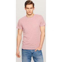 Melanżowy T-shirt - Fioletowy. Fioletowe t-shirty męskie marki Reserved, l, z bawełny. Za 29,99 zł.