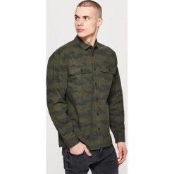 Koszule męskie: Koszula utility – Wielobarwn