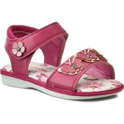 Sandały dziewczęce: Sandały NELLI BLU – C147C081505-15 Różowy Ciemny