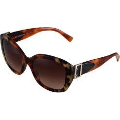 Burberry Okulary przeciwsłoneczne havana grey/brown/grey. Brązowe okulary przeciwsłoneczne damskie aviatory Burberry. Za 969,00 zł.