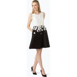 Apart - Damska sukienka wieczorowa, beżowy. Brązowe sukienki koktajlowe Apart, z aplikacjami. Za 749,95 zł.