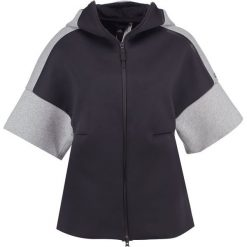 Bluzy męskie: adidas Performance Bluza rozpinana black/medium grey heather