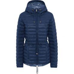 Lekka kurtka parka pikowana bonprix nocny niebieski - dymny niebieski. Niebieskie kurtki damskie pikowane bonprix. Za 89,99 zł.
