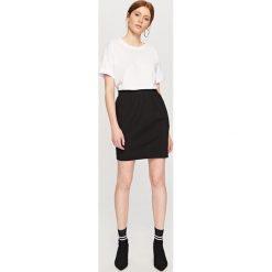 Spódniczki: Ołówkowa spódnica – Czarny