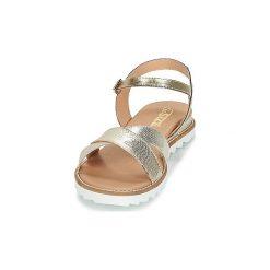 Sandały So Size  TENIPO. Żółte sandały trekkingowe damskie marki So Size. Za 369,00 zł.